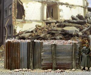 DioDump-DD130-Panzersperre-Anti-tank-barricade-1-35-scale-diorama-accessory