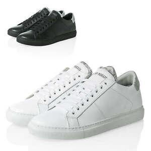 Antony-Morato-Hommes-Sneaker-Low-Top-veritable-cuir-chaussures-chaussures-hommes-SALE