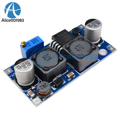 XL6009 DC to DC Digital Boost Step Up Power Supply Module with Voltmeter B3