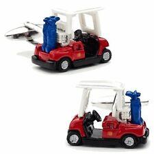 Golf Cart Ball Sports Club Car Cufflinks + Free Box & Cleaner