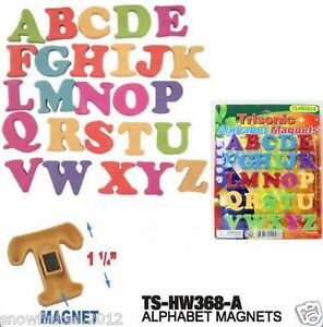 COLORFUL ABC ALPHABET FRIDGE MAGNET EARLY LEARNING EDUCATIONAL TOYS-26pcs