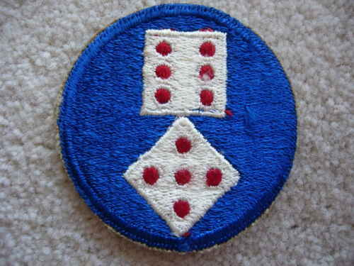 WW2 US Army XI 11th Corps cloth patch