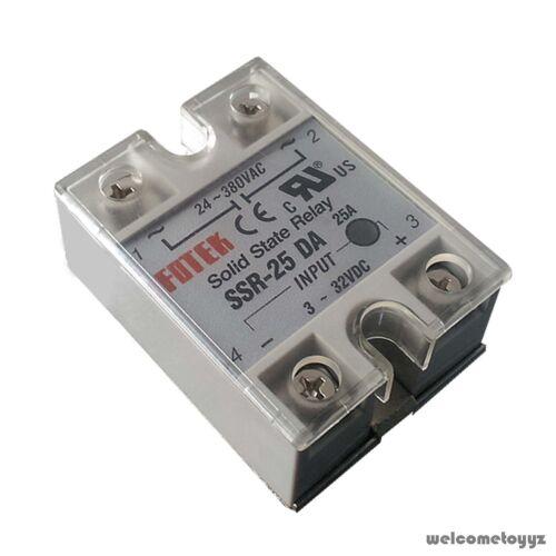 SSR 40DA 1//16 DIN Dual 4-Digit Digital PID Temperature Controller Thermocouple