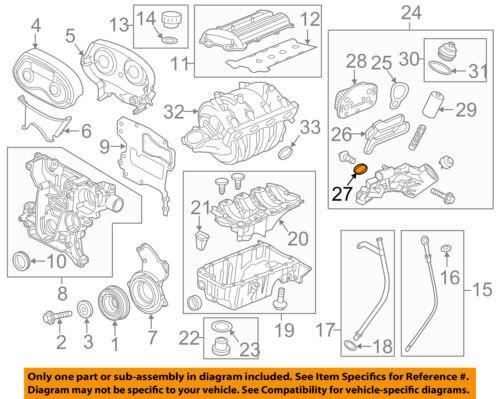 SONIC CRUZE 1.8 AVEO G3 1.6 ENGINE OIL COOLER GASKET NEW GM # 55353319