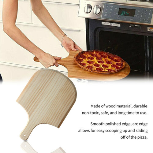 Pastry Tools Cutting Board Wooden Pizza Paddle Cooking Hanging Spatula Style