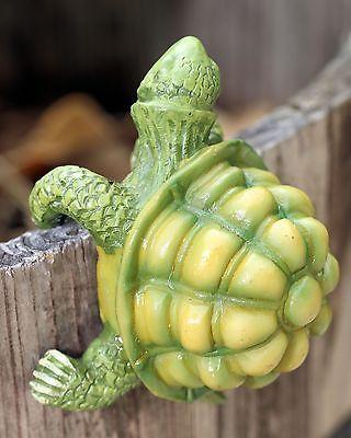 Pot Sitter Cheeky Garden Turtle or Cute Snail Hangs From Garden Flower Pot 60 MM