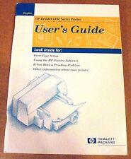 HP Deskjet 670C Series Printer User's Guide