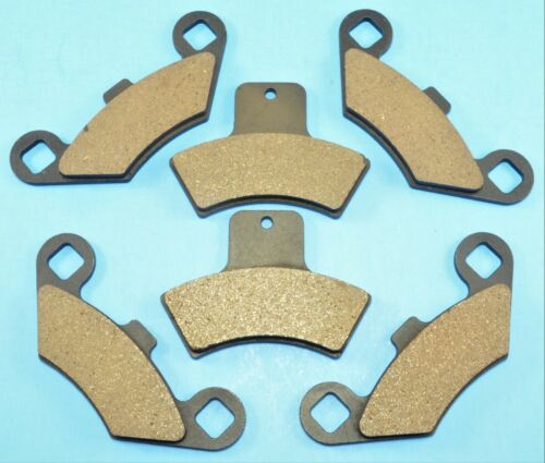 New Front /& Rear Brake Pads  For POLARIS Sportsman 500 4x4 EBS 1998-02