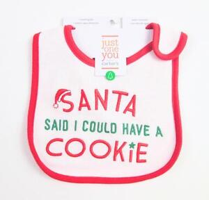 55c087286 CARTER'S CARTERS UNISEX BABY RED CHRISTMAS SANTA HOLIDAY TEETHING ...