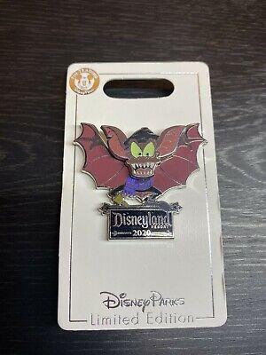 Details about  /Disney BAT DAY 2020 PIN FIDGET Great Mouse Detective Disneyland Halloween NEW