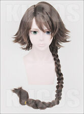 Cosplay wig Final Fantasy Ⅹ YUNA Woman Anime Brown short fringe hair wigs