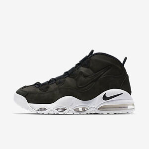 premium selection b169b 5f128 Image is loading 2016-Nike-Air-Max-Uptempo-Black-White-Size-