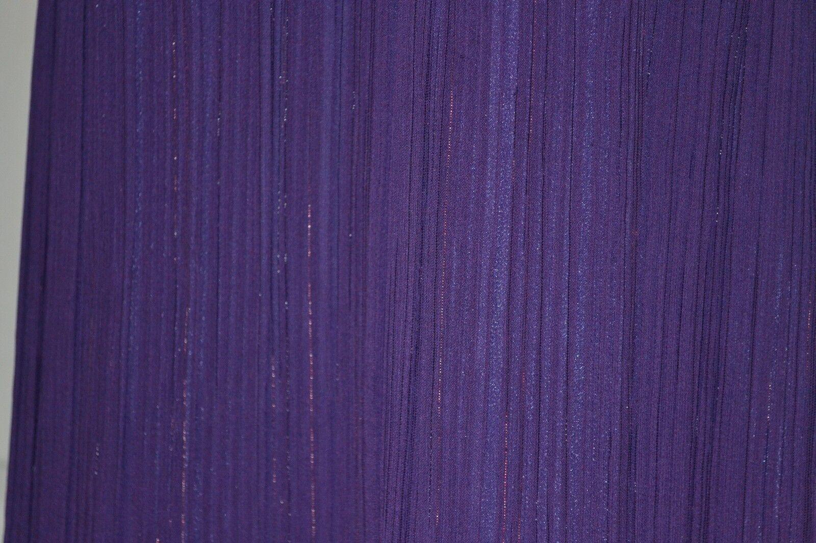 LYNDIA by Lyndia Procanik Procanik Procanik Metallic Shimmer Empire Waist Dress Sz 8 New 123e39