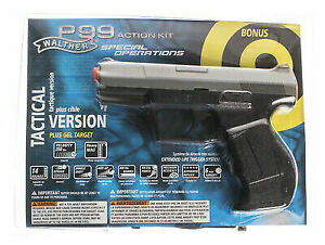 2272007 Umarex Walther P99 Spec Ops Airsoft Pistol Kit 6mm Caliber Spring  Power