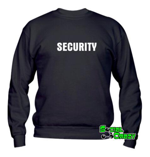 SECURITY sicurezza Felpa UOMO Girocollo top qualità
