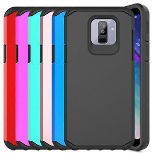 For-Samsung-Galaxy-A6-Case-Hybrid-Shockproof-Protective-Armor-Hard-Phone-Cover