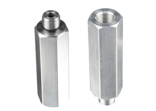 2x Kuppelhilfe Verlängerungsmuffe Alu Verlängerung für Kupplungskopf M16x1,5 LKW
