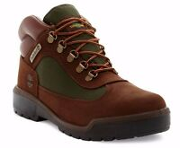 Timberland Kids Field Boot Jrs Dark Brown Boots /shoes Youth Size 5 M