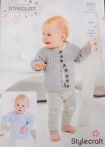 Stylecraft-9522-Knitting-Pattern-Wondersoft-Stardust-DK-cardigan-and-jumper