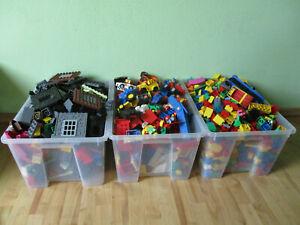 UD-1-Kg-LEGO-DUPLO-KILOWARE-STEINE-PLATTEN-FIGUREN-TIERE-FAHRZEUGE-GEMISCHT