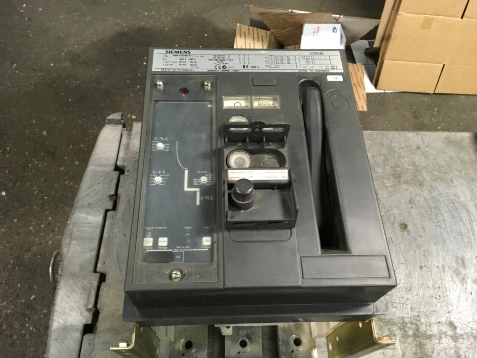 Used Circuit Breakers Ite E43b060 60 Amp 3 Pole Breaker Siemens 3wn6 3wn6421 0hv05 1hh1 Fixed Mounted Small Norton Secured Powered By Verisign