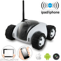 720p Hd Spy Rc Car Real-time Video Camera Night Vision P2p Wifi Remote Control
