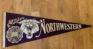 Northwestern Wildcats College Vault and Throwback Pennant