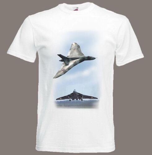 Avro Vulcan Bomber t-shirt Hawker Siddeley Vulcan size Small TO XXXL