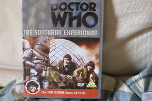 Dr-Doctor-Who-The-Sontaran-Experiment-DVD-Region-2-amp-4-Tom-Baker-VGC-Dr-Who