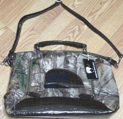 """2112125 CONCEALED WEAPON PURSE//HAND BAG,13/""""DEEP CAMOUFLAGE RT1-C501176"""