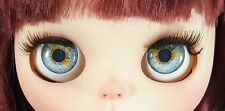 Blythe Doll Realistic Soft Eye Chips - Light Blue Gray EyeChips US SELLER