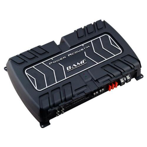 Power Acoustik BAMF1-5000D 5000 Watts Monoblock Class D Car Subwoofer Amplifier