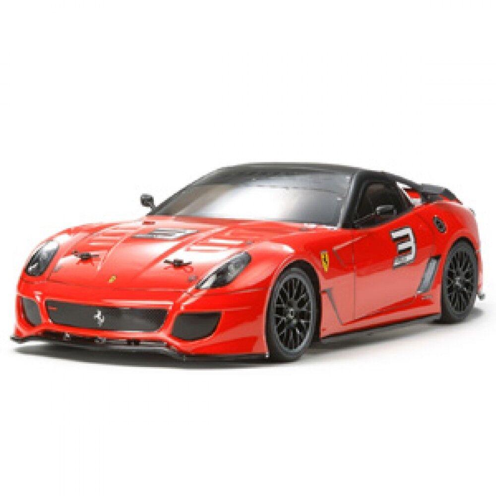 Tamiya 58506 Ferrari 599XX chasis TA06 con rodamientos de bolas 1 10 RC coche completo