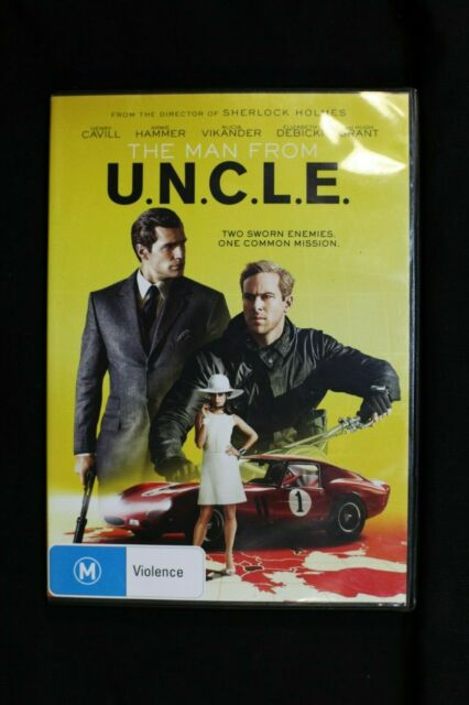 The Man From U.N.C.L.E. (DVD, 2015)- Pre Owned R4 (D161)