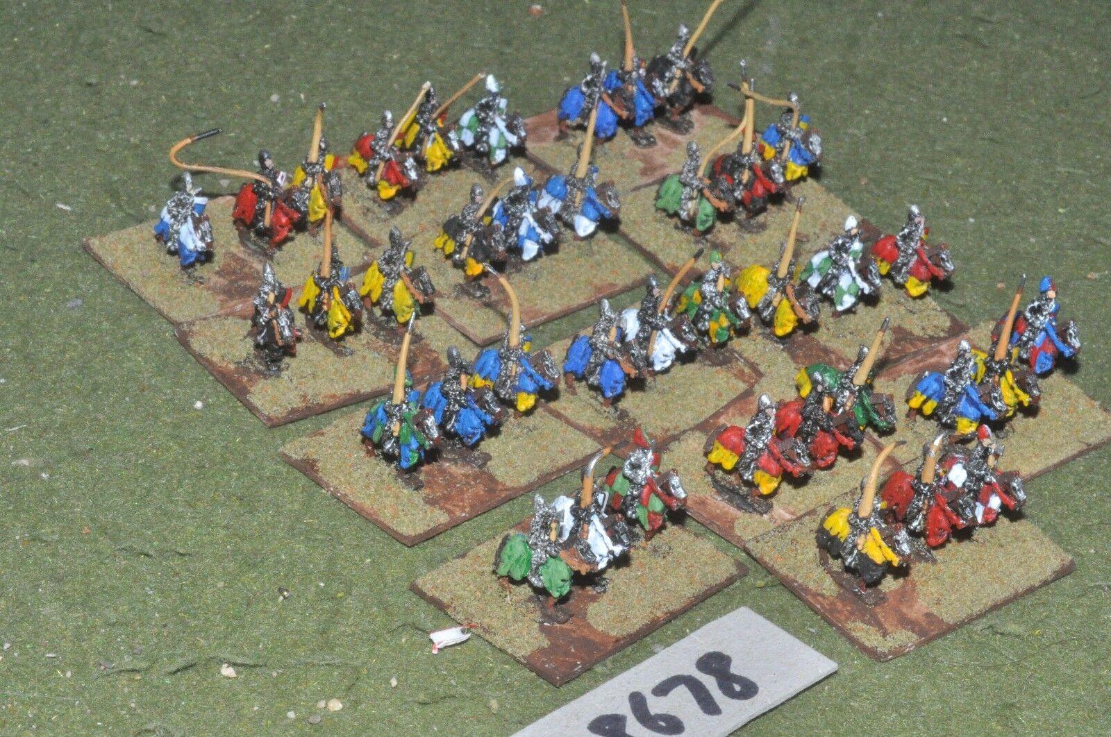 10mm medieval francés - 100yrs guerra Caballeros 39 figuras-CAV (28678)