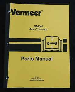 Vermeer Baler Parts Diagram on