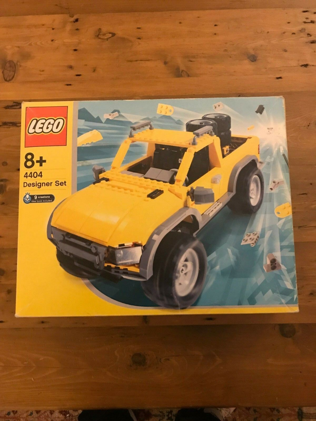 Lego Set 4404 Make and Create Designer Set Land Busters