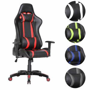 Gaming-Chefsessel-Burostuhl-Racing-Schreibtischstuhl-Sportsitz-Stuhl-Sessel