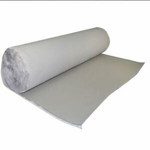 "Gray Automotive Headliner Fabric Craft Upholstery Foam Backing Fixed 60/""x60/"""