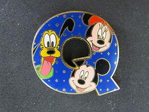 Alphabet Collection 2011 V Disney Pin 86629