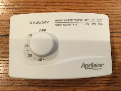 Aprilaire 4655 Manual Humidifier Humidistat