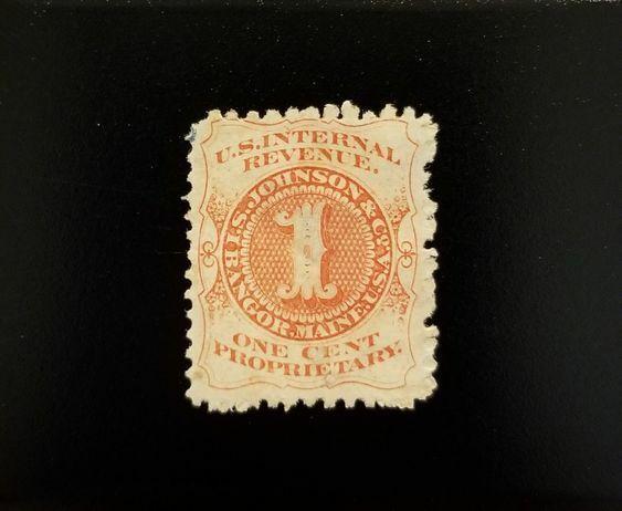 I.S. Johnson & Co. U.S.A. Internal Revenue 1c RS150b Pr