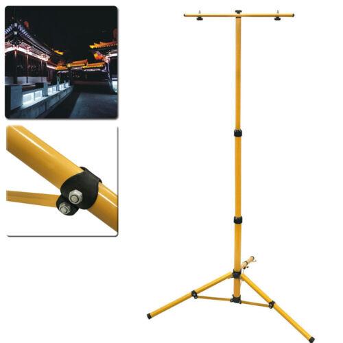 Gelb Ständer Lampenständer Teleskopischstativ Stativ für Fluter Strahler Außen