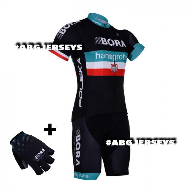 NEW 2018 BORA HANSGROHE MAJKA POLAND JERSEY BIB  HOBBY KIT CYCLING TOUR DE FRANCE  fast delivery