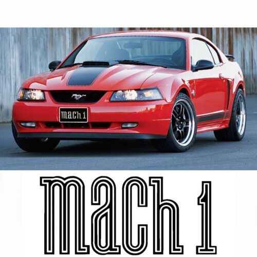 MUSTANG MACH 1 GRILLE DELETE 99-04 GT, V6 Factory Fit n Finish