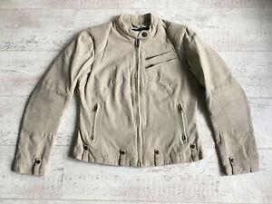 Triumph-Urban-Cafe-Canvas-Riding-Jacket-Women-Medium-38-034-Chest