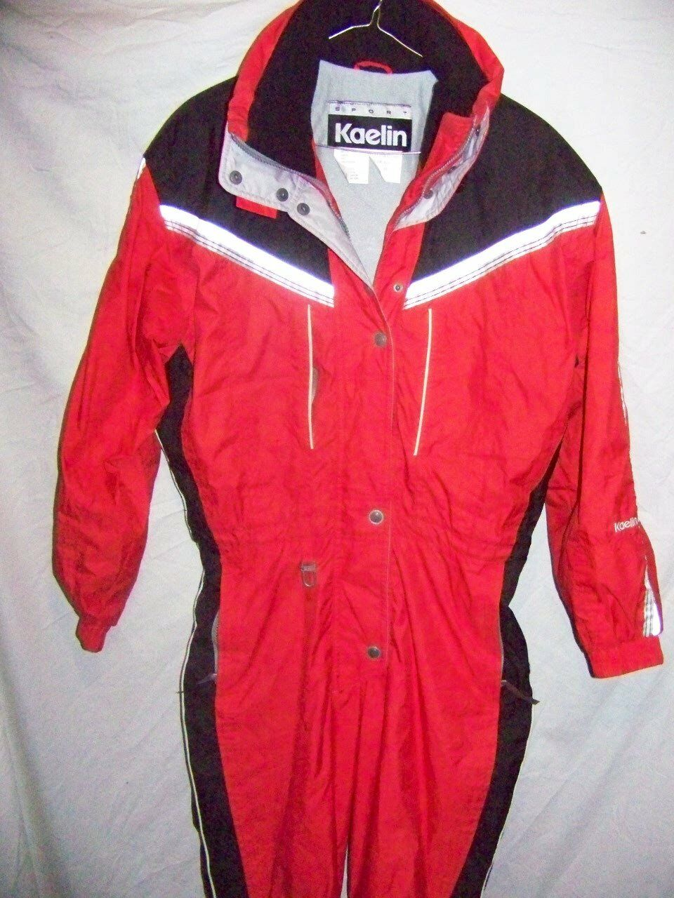 Vintage Kaelin Insulated One Piece Snow Ski Suit, Women's 10