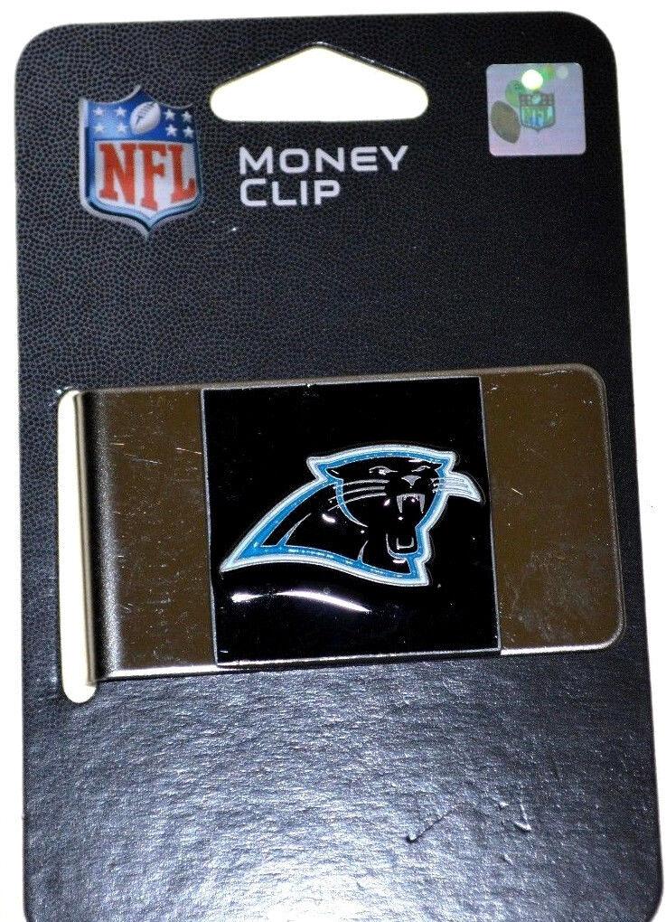 NFL Carolina Billets Panthers Acier Pince à Billets Carolina 393a6b
