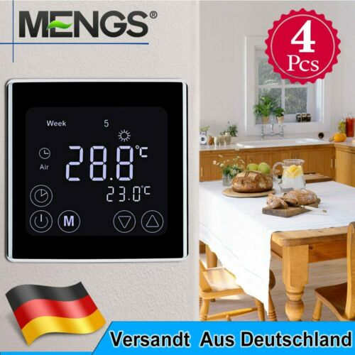 C17.GH3 7 Tage Digital Programmierbare Heizung Thermostat mit LCD Touchscreen