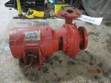 Bell And Gossett Pump With 75 Hp Motor No Pump Tag 2x3x 7 12 17538k Used